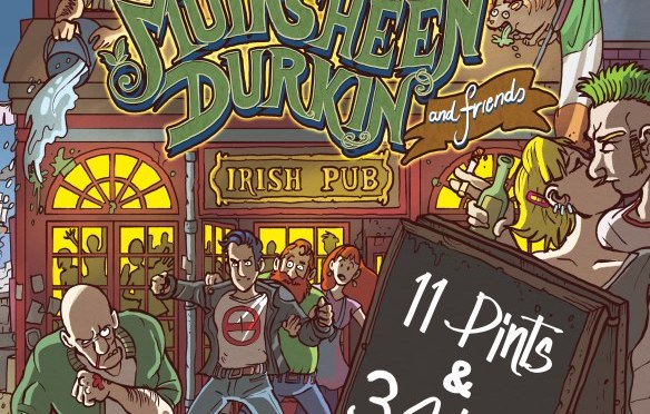 Muirsheen Durkin and Friends: 11 Pints & 3 Shots